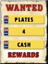 wanted number plates